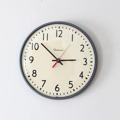 simplex school wall clock