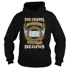 I Love  FOX CHAPEL T shirts