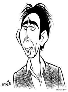 Nicolas Cage, by Pete Emslie