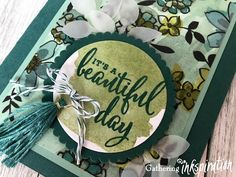 Gathering Inkspiration: Love What You Do.... It's a Beautiful Day