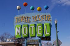 Googie Motel Sign