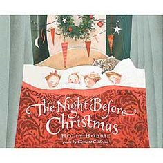 Love this version of  The Night Before Christmas  by Holly Hobbie Chinaberry.com