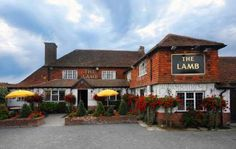 The Lamb has been a popular Pagham pub for a few hundred years. Built in the seventeenth century there is plenty of that traditional pub feeling with open fir Bognor Regis, Pub Food, Chichester, Beer Signs, Open Fires, I Cool, Ireland Travel, My Happy Place, Lamb