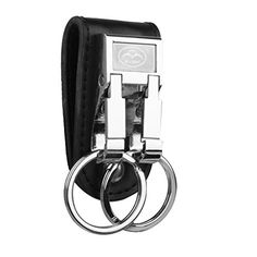From 2.32:Phenovo 1pc Artificial Leather Strap Alloy Double Ring Key Chain Car Keyring