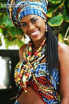 Africans have used beads for ritual and decorative purposes for hundreds of years. In ancient African graves, beads and beaded necklaces wer...