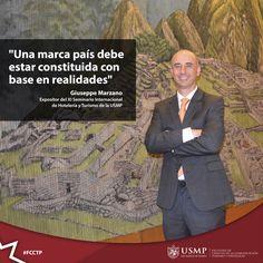 #Turismo | ¿Cómo se debe construir una marca país? El destacado especialista, Giuseppe Marzano, Decano de la Facultad de Posgrados de la Universidad de las Américas UDLA Quito, explicó los detalles en una entrevista concedida a ANDA Perú.