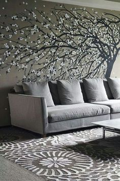 Tree wall Decal Living Rooms.