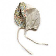 Bonnet sunhat (beige), Sweet William
