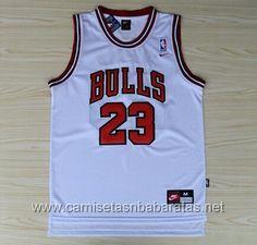 98d557cb69745 camisetas NBA Chicago Bulls #23 Jordan Blanco €19.99 Portland Trail  Blazers, Michael Jordan