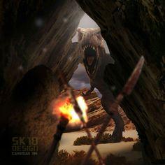 Caveman #sk18design #photoshop