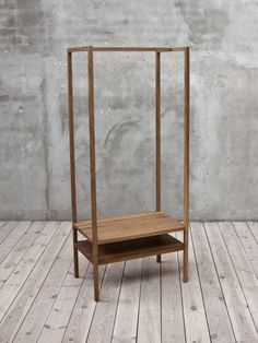 This is Oak, the result of an extracurricular, collaborative student workshop at Lund University School of Industrial Design, Sweden. The goal: to explore archetypes and stereotypes in the world of furniture. Wooden Furniture, Home Furniture, Furniture Design, Diy Clothes Rack Wood, Clothes Racks, Oak Wardrobe, Diy Storage, Shoe Storage, Storage Ideas