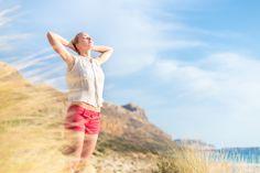Free Happy Woman Enjoying Sun on Vacations. by Matej Kastelic on