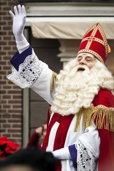 Sinterklaas  .  Christmas Around the World no.1 - Holland