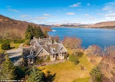 This Highland lodge, called Croiscrag, is an angler's paradise with direct access to the b...