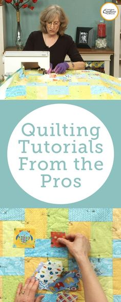 Get Free quilting videos and tips from the National Quilters Circle. Sign up for our newsletter and get expert videos, tips & projects delivered free to your inbox every week!