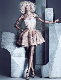 Fashion Magazine April 2013 | Ph. Chris Nicholls
