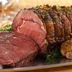 Garlic Prime Rib @keyingredient