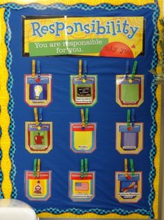 Responsibility-Board and a bunch of other related bulletin board ideas!!