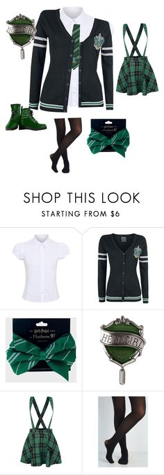 """Slytherin"" by alicewholocked ❤ liked on Polyvore featuring George"