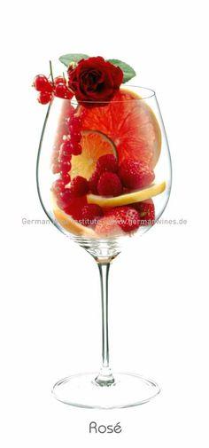 Descrição aromática da variedade: Rosé