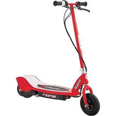 8 Razor E250 Electric Scooter Red