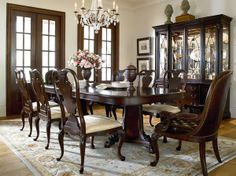 Nice Elegant Dining Room Set To Bring Charm To Your Home Found At The Furniture  Mall Of. Thomasville ...