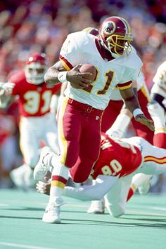Earnest Byner of the Washington Redskins