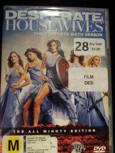 """Desperate Housewives tries to make women appear.masculine like warriors which ironic because they call themselves """"desperate"""" housewives thus longing for more; for man."""