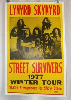 lynyrd skynyrd superdome 1975 & no arena 1999(?) plus many others