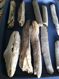 19 Pieces LARGE Round Shaped Natural Driftwood Pieces by caroledoc, $4.00