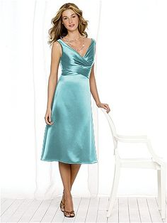 After Six Bridesmaid Style 6513 (Renaissance Satin in Spa)...pretty sure all my girls would look SMASHING in this one! :)