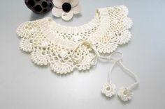 DIY Collar Pattern crochet collar pattern por AccessoriesByAtlas