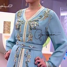 "712 Likes, 1 Comments - Caftan Inspiration By Noor 🍀 (@caftan_inspiration) on Instagram: ""💙…"""
