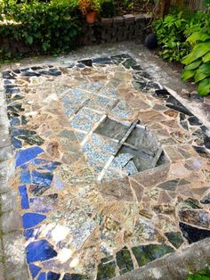 ArtofGardening.org: My marble and granite area rug, or, how I spent my Fourth of July weekend