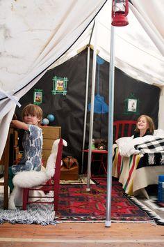 Camping wonderland