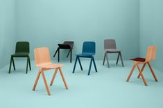 Interactive slideshow: furniture and homeware from Danish brand Hay, via FormFreundlich.de