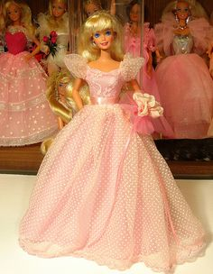 Wedding Day Barbie 1990