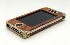 EXO15 Brass hardwood iPhone Case