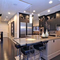Conmore molded doors - modern kitchen by Jordan Lotoski