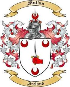 mullan flag crest - Google Search