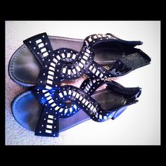 Attention! Sandals. Barely worn just sat in my closet and gathered dust. Attention Shoes Sandals