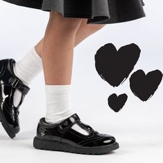 Kids School Shoes, Black School Shoes, Back To School Uk, Kid Shoes, Girls Shoes, Trendy Kids, Girls Shopping, Oxford Shoes, Collections