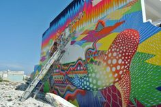 #SeaWalls Murals for Oceans on Isla Mujeres, Mexico