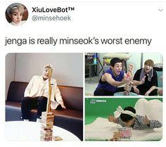 Oh god someone help baby baozi Exo Ot12, Chanbaek, Kaisoo, Funny Kpop Memes, Exo Memes, Baekhyun, K Pop, Shinee, Jonghyun