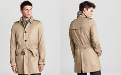 Burberry Single Breasted Trench