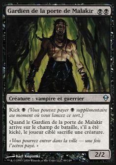 Gardien de la porte de Malakir - magic-ville.com