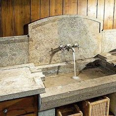 stone kitchen sink commercial degreaser for 64 best antique sinks by ancinet surfaces images one ancient on instagram provence french bastide countryside farmhouse farmhousesink limestone antiquelimestone antiquestone