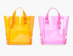 (Kingsland Tote by Alexander McQueen) Tote Bags, Shopping Totes, 2014 Fashion Trends, Transparent Bag, Buy Bags, Pack Your Bags, Clear Bags, Mcq Alexander Mcqueen, Vinyl