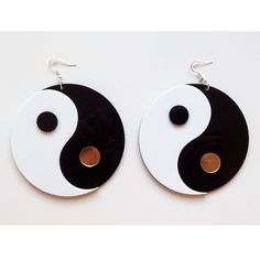 YIN YANG - Earrings via VANILLA VICE. Click on the image to see more!
