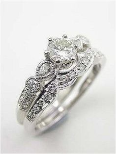 Antique engagement rings vintage (32) #weddingring